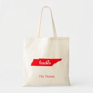 State of Tennessee Personalized Teacher Tote