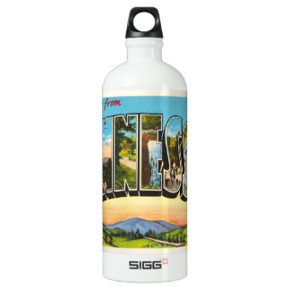 State of Tennessee TN Old Vintage Travel Souvenir SIGG Traveller 1.0L Water Bottle