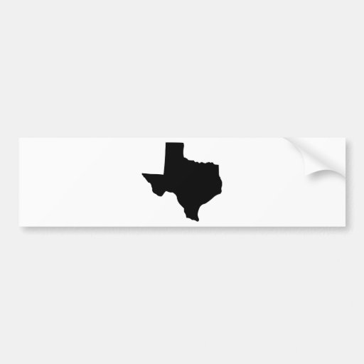 State of Texas Bumper Stickers