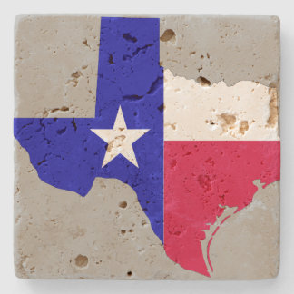 State of Texas Stone Beverage Coaster