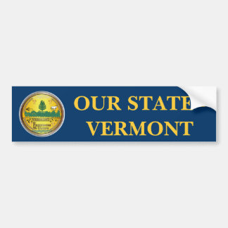 State of Vermont great seal Bumper Sticker