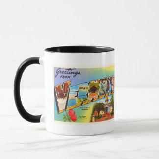 State of Vermont VT Old Vintage Travel Souvenir Mug