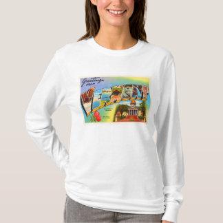 State of Vermont VT Old Vintage Travel Souvenir T-Shirt