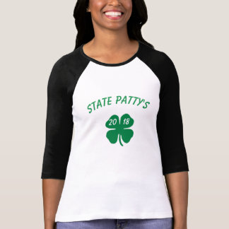 STATE PATTY'S DAY SHIRT 20XX