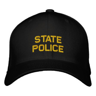 State Police Embroidered Hats