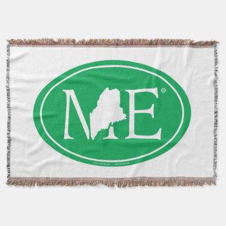 State Pride Euro: ME Maine Throw Blanket