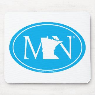 State Pride Euro: MN Minnesota Mouse Pad