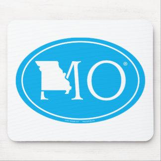 State Pride Euro: MO Missouri Mouse Pad