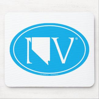State Pride Euro: NV Nevada Mouse Pad