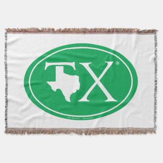 State Pride Euro: TX Texas Throw Blanket