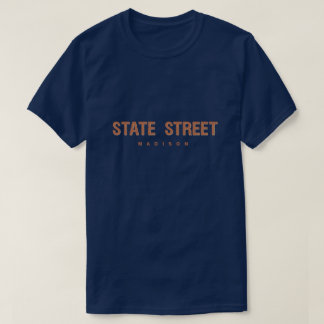 State Street Madison Wisconsin T-Shirt