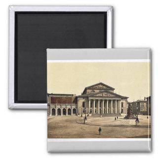 State Theater, Munich, Bavaria, Germany rare Photo Square Magnet