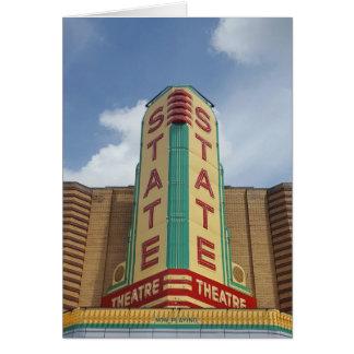State Theatre - Ann Arbor MI Greeting Card