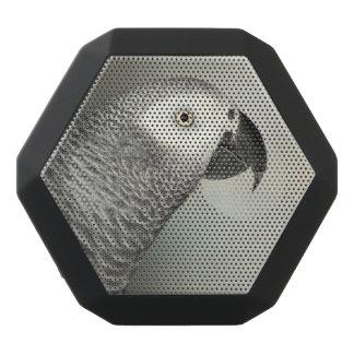 Stately African Grey Parrot Black Boombot Rex Bluetooth Speaker