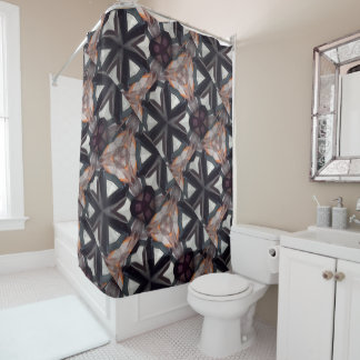 Stately Pearl collection shower Curtain Pearlesce