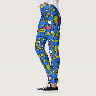 Statement Abstract art leggings