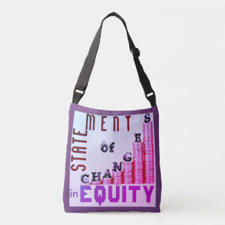 """Statement Of Changes In Equity"" Crossbody Bag"