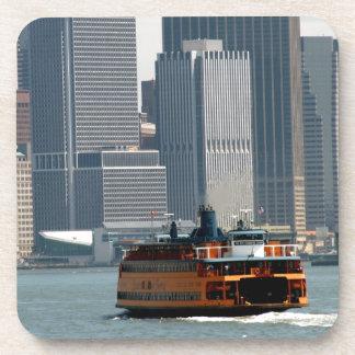 Staten Island Ferry heading to Manhatten Coaster