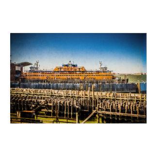 Staten Island Ferry NYC Acrylic Print