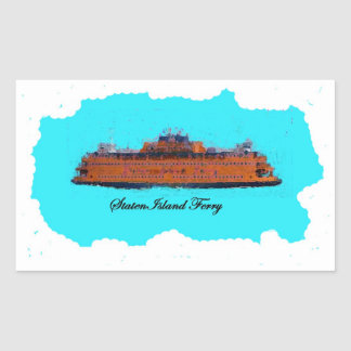 Staten Island Ferry Sticker