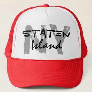 Staten Island New York NY Trucker's Hat