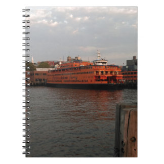 Staten Island Sunrise Spiral Note Book