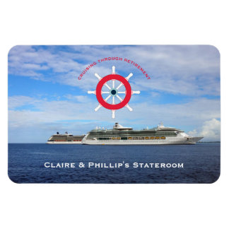 Stateroom Door Marker Custom Retirement Cruise Magnet