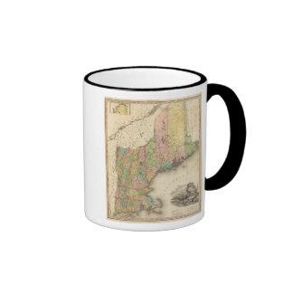 States of Maine, New Hampshire, Vermont Mug
