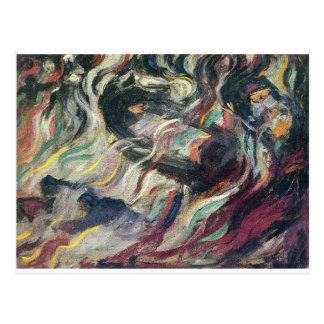 States of Mind: The Farewells by Umberto Boccioni Postcard
