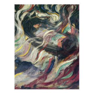 States of Mind: The Farewells by Umberto Boccioni Postcard
