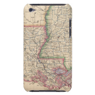 States of Mississippi and Louisiana Barely There iPod Covers