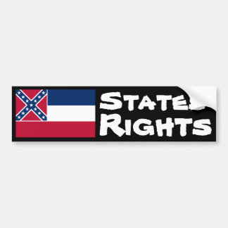 States' Rights Bumper Sticker