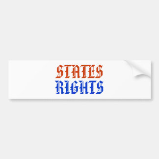 STATES RIGHTS BUMPER STICKER