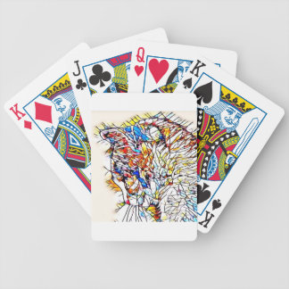 Static Cat Bicycle Playing Cards