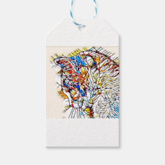 Static Cat Gift Tags