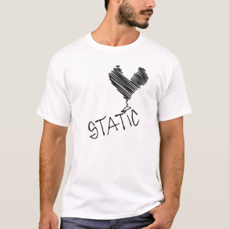 "Static ""scribble"" T T-Shirt"
