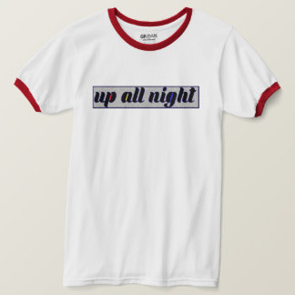Static Tri Up All Night Ringer T-Shirt