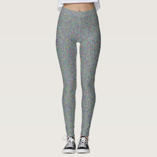static tv white noise leggings