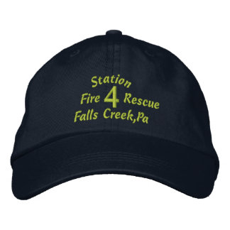 Station, 4, Falls Creek,Pa, Fire, Rescue-Hat Embroidered Hat