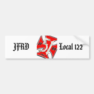 station-51-patch-dammit,    JFRD               ... Bumper Sticker