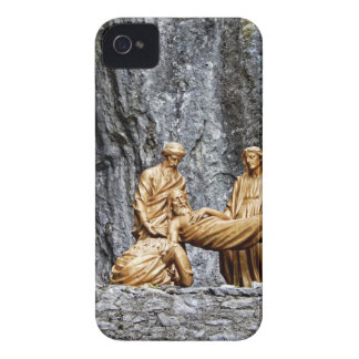 Station at Lourdes Case-Mate iPhone 4 Cases