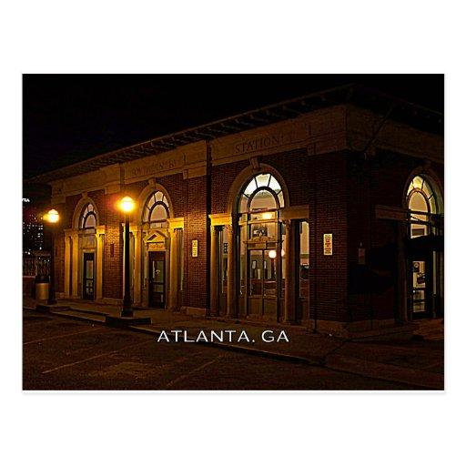 STATION - Atlanta, Brookwood, Georgia Postcards