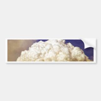 Station Fire Smoke Cloud2009_ Bumper Sticker