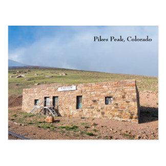 Station House at Pikes Peak Postcard