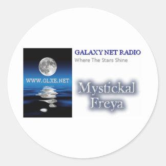 Station Logo - Mystickal Freya Round Sticker