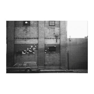 Station Wagon Urban Industrial Cityscape Canvas Prints