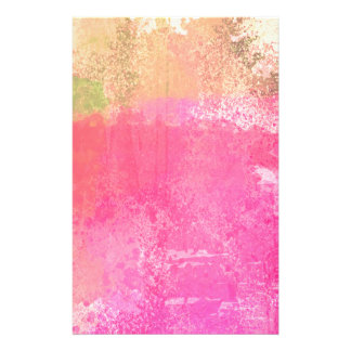 Stationery: Abstract Art Grunge Watercolor Print Stationery