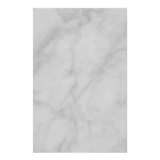 Stationery--Black & White Marble Stationery Paper