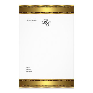 Stationery Elegant Animal Gold White Elite