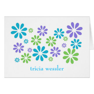 stationery-flowers-retro note card